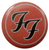 Foo Fighters - 'Logo' Button Badge
